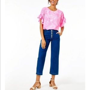 NWT Lilly Pulitzer Aileen Jeans